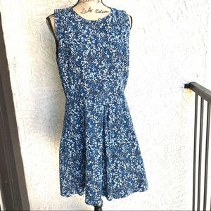 Gap Linen/Cotton Summer Sleeveless Dress w/Pockets